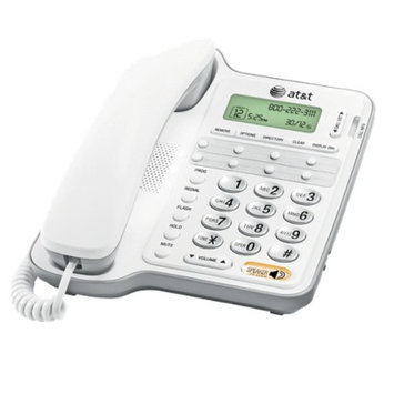 AT&T CL2909 Corded Speakerphone Caller ID- White