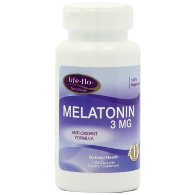 Life Flo Life-Flo Melatonin Tablets, 3 mg, 120 Count
