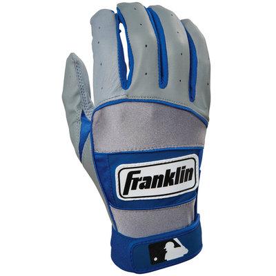 Franklin Sports MLB Youth NEO -100 Batting Glove Gry/Royal Large