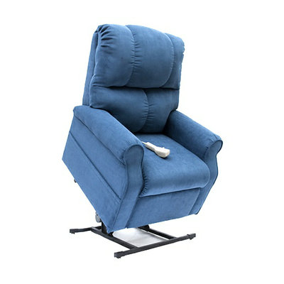 Walgreens 3-Position Lift Chair Recliner with Heat and Massage Indigo