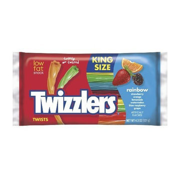 Twizzlers Twists, Rainbow, 4.3-Ounce Packages (Pack of 15)