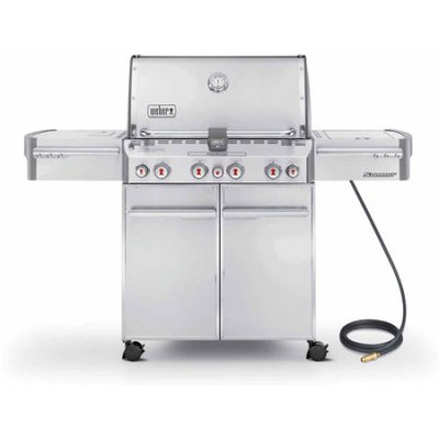 Weber Summit S-470 Natural Gas Grill, Stainless Steel