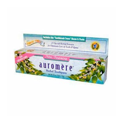 Auromere Herbal Toothpaste Cardamom-Fennel 4.16 oz Case of 12