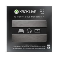 Microsoft Xbox Live Gold Day One Edition (Xbox One)
