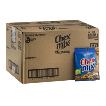 Chex Mix Snack Mix Traditional - 60 CT