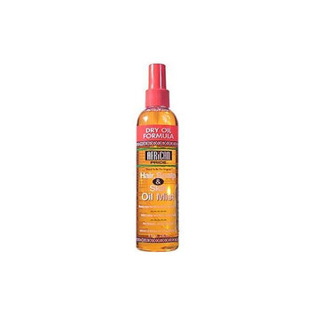 African Pride Hair, Scalp & Skin Oil Mist: 8 OZ