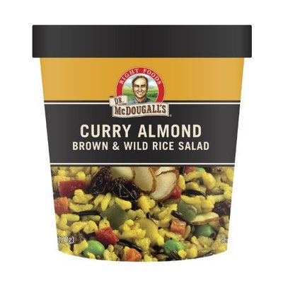 Dr. McDougall's Right Foods Vegan Curry with Brown & Wild Rice Pilaf, 2.5-Ounce Cups (Pack of 6)
