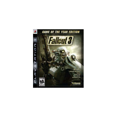 Bethesda Softworks Fallout 3 Game Of The Year