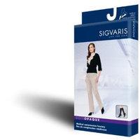 Sigvaris 842C Soft Opaque 20-30 mmHg Closed Toe Knee Highs Color: Black 99, Size: Medium Long (ML)