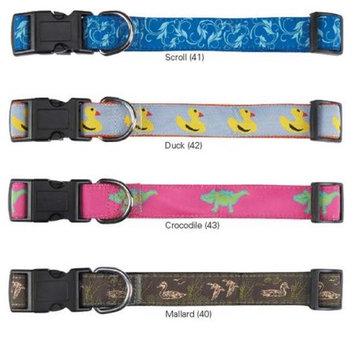 Pet Edge Dealer Services Water Ways Scroll Dog Collar Size: 18-26