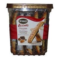Nonni's Cioccolati & Chocolate Hazelnut Biscotti, 25 Count