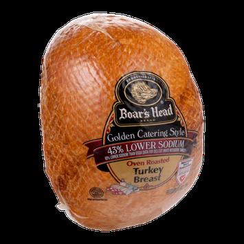 Boar's Head Golden Catering Style Oven Roasted Turkey Breast