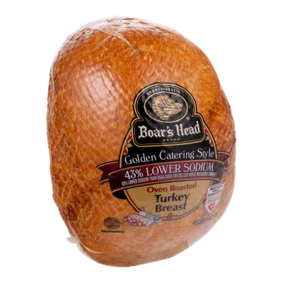 Boar's Head Golden Catering Style Oven Roasted Turkey Breast