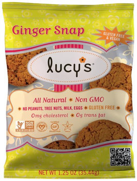 Dr Lucys Dr. Lucy's - Gluten Free Cookies Ginger Snap - 1.25 oz. DAILY DEAL
