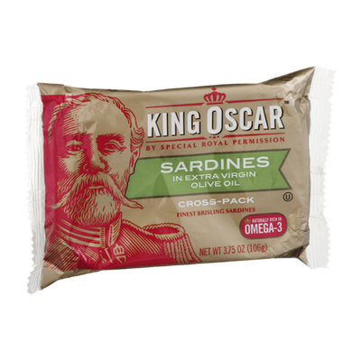 King Oscar Sardines in Extra Virgin Olive Oil