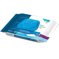 SCA Tena Classic Washcloths Premoistened Wipes, Case/576 (12 packs of 48)