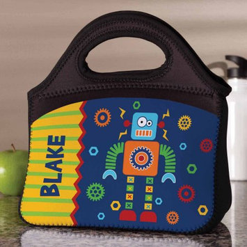 Generic Personalized Robot Lunch Bag
