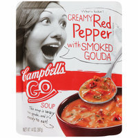 Campbell's Go Soup Creamy Red Pepper with Smoked Gouda