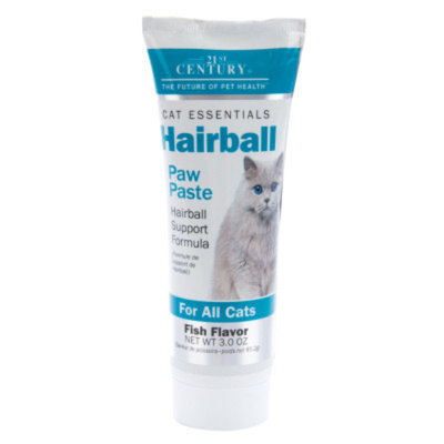 21st Century Hairball Support Cat Paw Paste