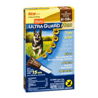 Hartz Ultra Guard Pro Triple Action Flea & Tick Drops for Dogs & Puppies 61-150lbs - 3 CT