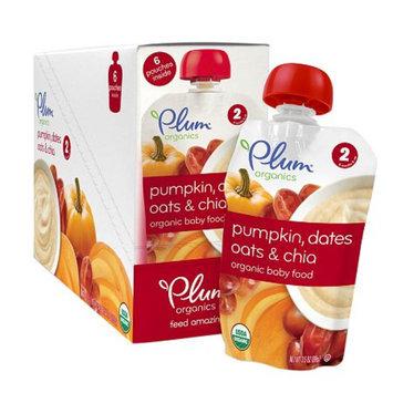 Plum Organics Second Blends Pumpkin, Dates, Oats & Chia