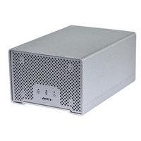 Monoprice Thunder D3 Dual-bay Thunderboltô + USB 3.0 Enclosure -Silver