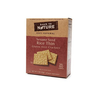 Back to Nature Gluten Free Crackers
