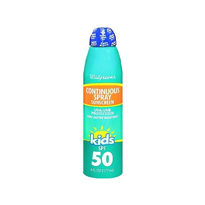 Walgreens Kids Continuous Spray Sunscreen