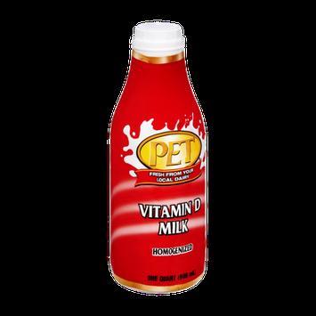 PET Vitamin D Milk