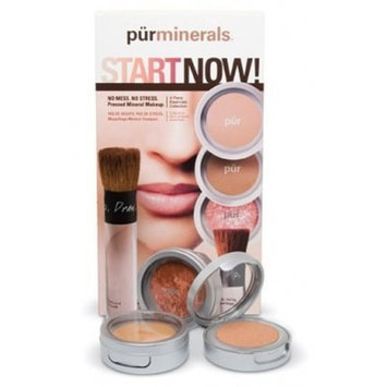 Pur Minerals Start Now Essentials Collection, Deepest, 4 ct