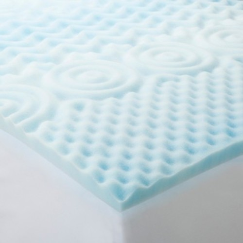 Foam Mattress Topper - Blue - Room Essentials™