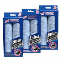 Endust 3 Packs Of Micro Fiber Towels  2 Per Pack