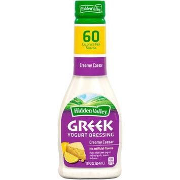 Hidden Valley Creamy Caesar Greek Yogurt Dressing, 12 fl oz