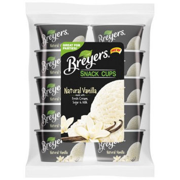 Breyers® Natural Vanilla Ice Cream Snack Cups