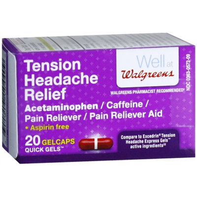 Walgreens Tension Headache Quick Gels