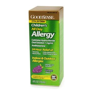 Good Sense Children's All Day Allergy Oral Solution