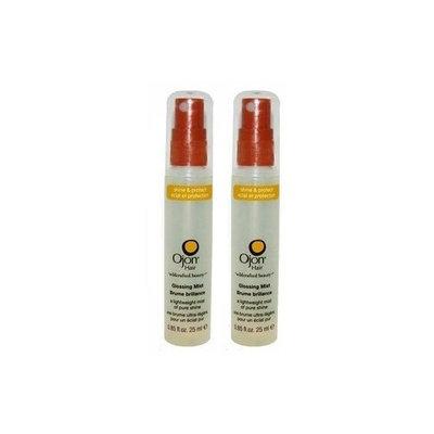 Ojon Hair Ojon Shine and Protect Glossing Mist 2 X 0.85 Oz. Total 50 Ml. 1.70 Oz.