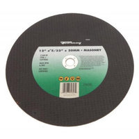 Forney 72353 Chop Saw Blade Type 1 High Speed Masonry with 20-Millimeter Arbor C24R-BF 12-Inch-by-5/