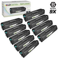 LD Compatible Replacements for Samsung CLT-504 Set of 9 Black Laser Toner Cartridges Includes: 9 CLT-K504S Black for the Samsung CLP-415NW, CLX-4195FN, CLX-4195FW, SL-C1810W, and SL-C1860FW Printers