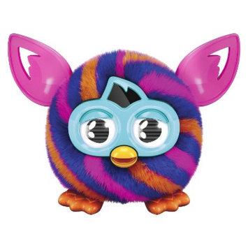 Furby Furblings Creature (Orange and Blue Diagonal Stripes)