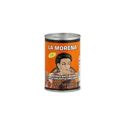 La Morena Bean Refrd & Adobo Sce, 15. 52 Oz. Case of 12