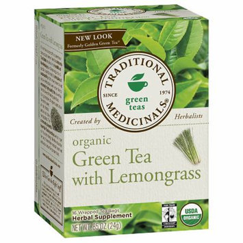 Traditional Medicinals Green Tea with Lemongrass
