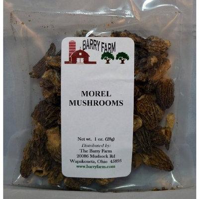 Barry Farm Dried Morel Mushrooms, Whole, 1 oz.