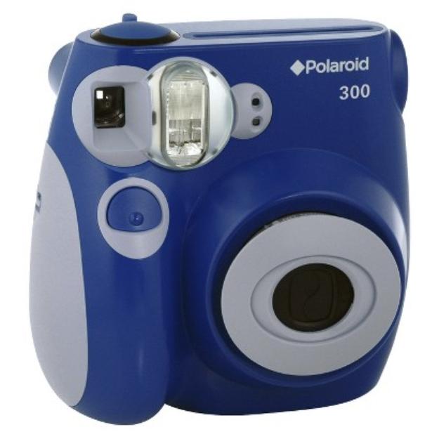 Polaroid 300 Instant Camera - Blue (PIC-300L)