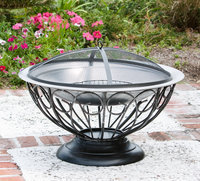 Fire Sense 02119 Stainless Steel Urn Fire Pit