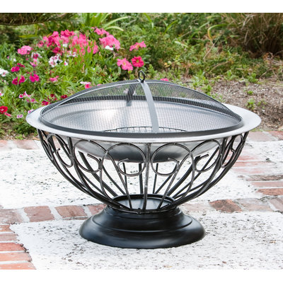 Fire Sense 02119 Stainless Steel Urn Fire Pit