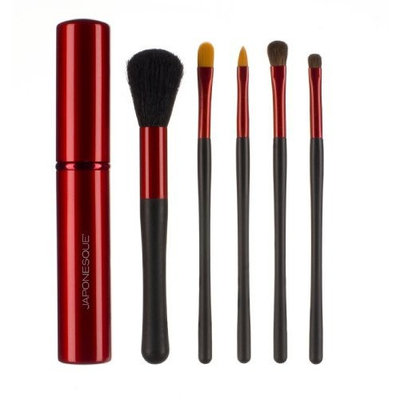 JAPONESQUE Touch Up Tube Brush Set, Red