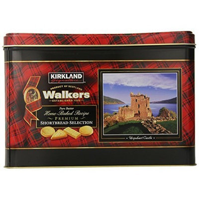 Kirkland Signature Walkers Premium Shortbread Selection Gift Tin, 4.6 Pound