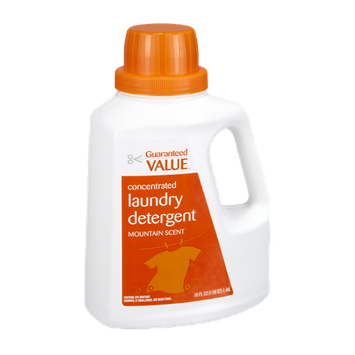 Guaranteed Value Mountain Scent Concentrated Laundry Detergent