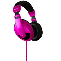 DGL VS 750 DJ PINK Vibe Stereo Headphones Pink HEC0FWSS2-1612